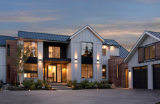 Oceanfront Modern Industrial Farmhouse