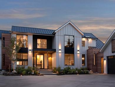 Oceanfront Modern Industrial Farmhouse